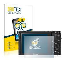 Sony Cyber-Shot DSC-RX100 V, 2 x BROTECT® HD-Clear Screen Protector, hard-coated