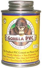 Gorilla PVC  PrimaGlue  Purple  Primer and Cement  For PVC 4 oz.