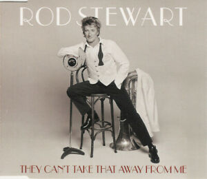 ROD STEWART - They Can't Take That Away From Me  PROMO Radio CD Single EUROPE