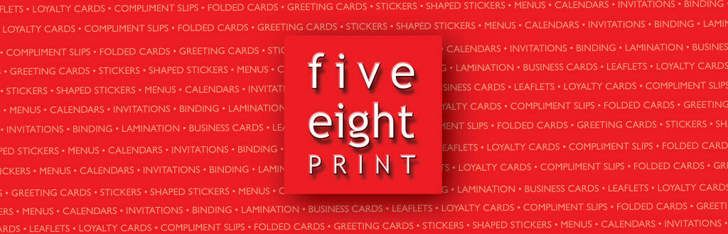 five eight print