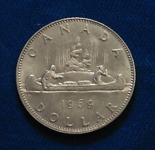 1969 CANADA Proof like nickel dollar coin MINT for 47TH birthday gift UNC
