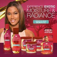 New African Pride Argan Miracle Moisture & Shine Hair Care Full Range