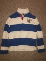 Rare Canterbury Of New Zealend Rugby Shirt - Men's Medium - Blue/White