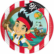 8 Disney Jake And The Never Land Pirates Party Large 23cm Paper Dinner Plates