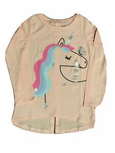 Assorted designer brands Girl's Unicorn T-Shirts; Sizes: 4 thru 12