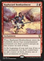 MTG x4 Haphazard Bombardment Dominaria RARE NM Magic the Gathering SKU#CS
