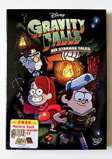 Gravity Falls Six Strange Tales Disney Cartoon on DVD Includes Journal #3 Insert