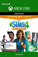 Xbox One The Sims 4 Get To Work - Microsoft Xbox One DLC Digital Code - Global