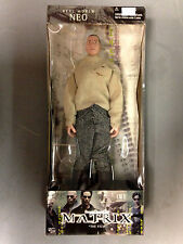 """2000 N2 TOYS THE MATRIX FILM MARTIAL ARTS REAL WORLD NEO 12"""" ACTION FIGURE DOLL"""