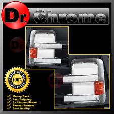 08-16 Ford Super Duty F250+F350+F450+Turn Light Signal Hole Chrome Mirror Cover