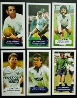 GROUP OF 6 TOTTENHAM HOTSPUR  Score UK football trade cards LINEKER GILZEAN 6/60
