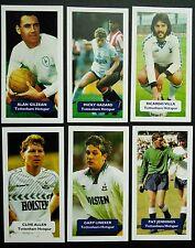 Grupo de 6 Tottenham Hotspur Puntuación UK tarjetas comerciales FÚTBOL Lineker Gilzean 6/60