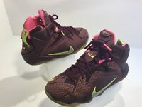 Kid's Nike LeBron Soldier Athletic Girl's Shoes Size 3.5Y Multi-Color