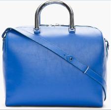 Maison Martin Margiela Metal Handle Bowler WOMEN BLUE LEATHER SHOULDER/HAND BAG