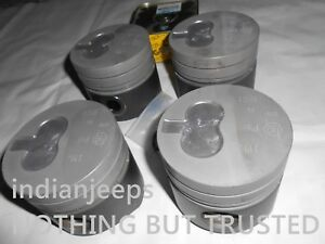 GENUINE OE PISTON SET WITH PISTON RINGS AND PIN FOR PEUGEOT 2.5 XD3 94MM DIA