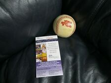 Pete Rose Autographed Baseball 1980 World Series Ball JSA Certified