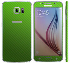 Green Fitted Cases/Skins for Samsung Galaxy S6