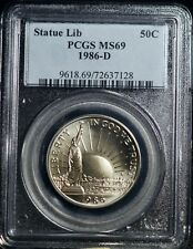 1986 Liberty Half Dollar PCGS MS 69 50C Commemorative