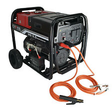 Cypha 5.63KVA Portable Welder Generator - 200 Amp Arc Welding - 5m Arc Lead Set