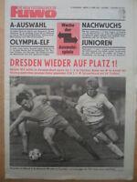 FUWO 16-15.4. 1980 ** Trocha Hause Dresden-Aue 4:2 Zwickau-BFC 2:1 Lok-Riesa 5:0