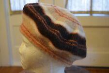 Vintage Bannockbane 100% Wool Tam O' Shanter Hat Scottish Beret Scotland No Poof