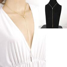Vogue Stylish Bib Statement Necklace Cool Pendant Chain Crystal Choker Chunky