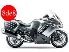Kawasaki ZG 1400 GTR (2008) A8F/B8F - Workshop Manual on CD (In Spanish)