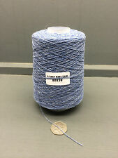 200G BLUE MIXTURE 2/20NM 95% WOOL 5% CASHMERE YARN H8136