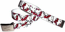 Hello Kitty BELT Buckle Cute Bracelet Lanyard Necklace Sanrio Pink Girl Rare New