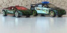 Matchbox - Lamborghini Gallardo LP 560-4 Polizia - Subaru Impreza WRX - 2007