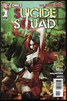 SUICIDE SQUAD #1 NEW 52 - FIRST PRINTING - HARLEY QUINN - DC, 2011 - VF/NM