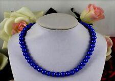 Modeschmuck-Halsketten aus Glas mit Perlen