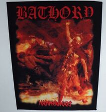 BATHORY  HAMMERHEART  BACK PATCH