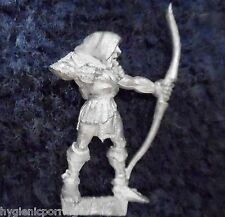 1989 WOOD ELF mm80 ci 12 Marauder esercito elfico, Silvan WARHAMMER Citadel AD&D in metallo