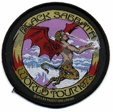 "Black Sabbath  ""World Tour 1978 "" Patch/Aufnäher 602252"