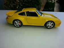 1/18 Diecast Porche In Yellow