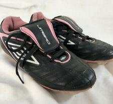 Umbro Corsica Revolution Girls' Soccer Cleats Shoes Black Pink Sz 1
