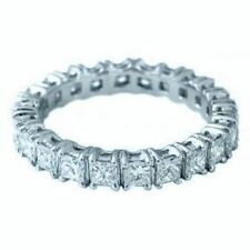 White Eternity Not Enhanced Fine Diamond Rings