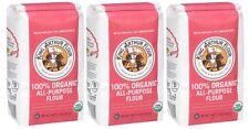 King Arthur Organic All Purpose Flour 3 Bags 2lbs Each Kosher