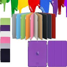 Magnetic Front & Back Smart Leather Stand Case Cover For iPad Air 2 3 4 Mini Pro