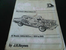 Austin A60 & A55 MkII Riley 4/68 4/72 Haynes Owners Workshop Manual