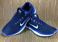 Mens Nike Free Trainer V7 Men's Athletic Shoes Navy Blue Size 13