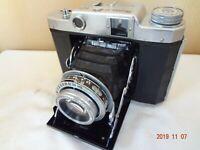 Mamiya 6 6x6,4.5 film folding camera w/Sekor T 75/3.5 lens from Japan Exc++ 2132