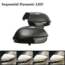 Pair Dynamic LED Turn Signal Indicator Fit For VW Beetle Passat CC Scirocco EOS