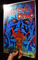 Ash Vs Evil Dead Bruce Campbell rare METALLIC FOIL PRINT 11x17