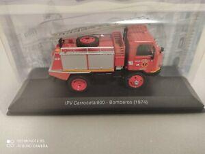 IPV Carroceta 900 -Bomberos Zaragoza (1974) 1/43 Vehículos de Reparto y Servicio