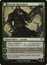 Magic: The Gathering-Magic El Encuentro-Garruk Relentless-Innistrad-mítico-casi Nuevo