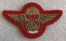 Peru Airborne Wing Gold Embroided