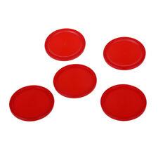 """5 Stk 2"""" Mini Air Hockey Tisch Brett Rote Plastikkugel 50 mm Kinder Tabelle T4J6"""