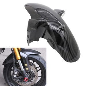 For Yamaha MT-09 FZ-09 2014-2019 Front Fender Carbon Fiber Splash Guard Mudguard